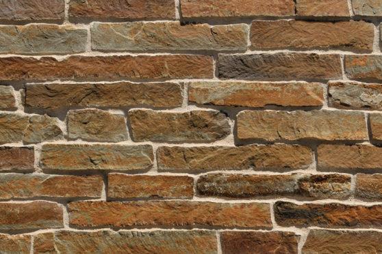 Creative Mines Natural Stone Veneer - Redwood Quarry Brick Ledge