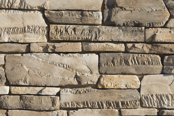 Creative Mines Craft Masonry Veneer - Timberwolf Craft Peak Ledge