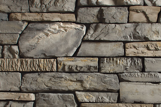 Creative Mines Craft Masonry Veneer - Blacktruffle Craft Peak Ledge