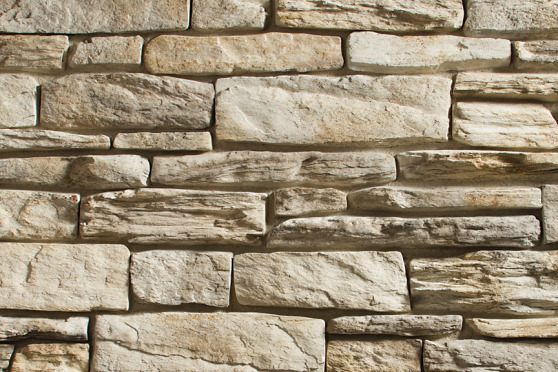 Creative Mines Craft Masonry Veneer - Timberwolf Craft Trail Ledge