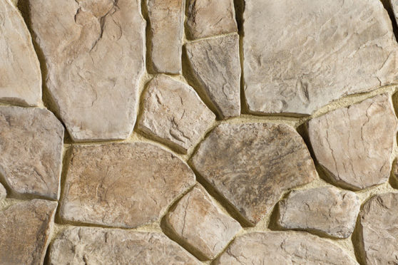 Creative Mines Craft Masonry Veneer - Timberwolf Craft Broken Rubble